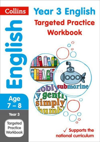 Collins Year 3 English Practice Workbook