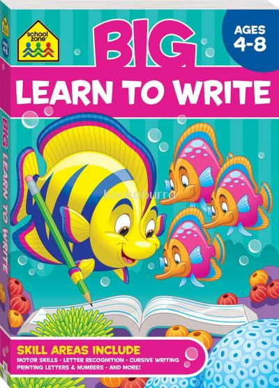 Learn to Write Ages 4-8