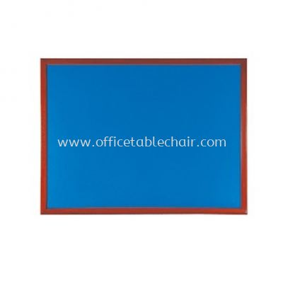 NOTICE BOARD WOODEN FRAME BROWN COLOUR