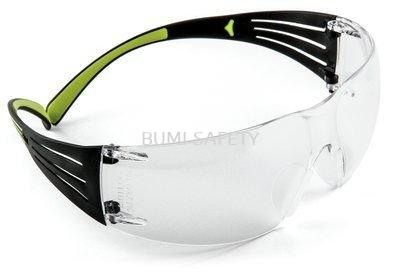 3M Securefit Eyewear Black Frame Sf401Af