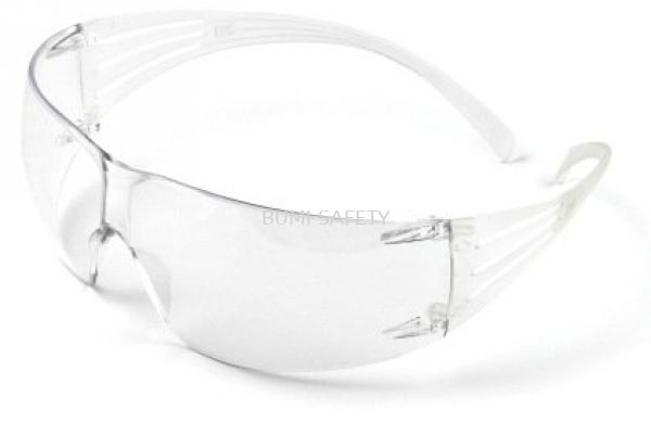 3M SECUREFIT EYEWEAR WHITE FRAME SF201AF