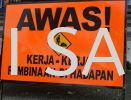 AWAS SIGN Safety Signage