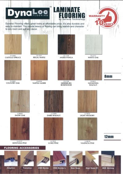 Laminate Catalogue