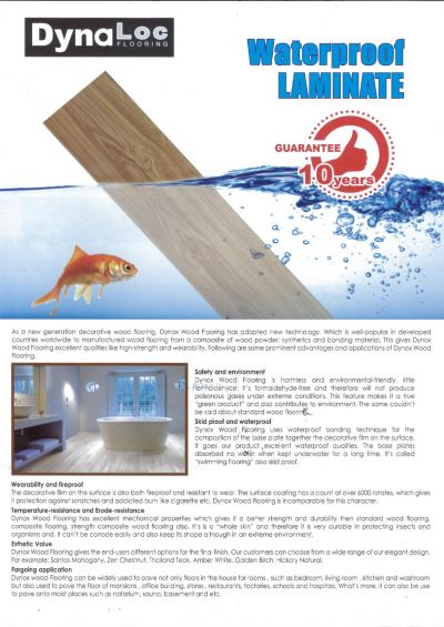 Waterproof Laminate Catalogue