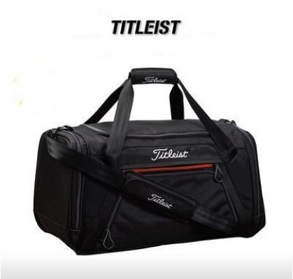 New Titleist Golf Essentials Duffel Bag Black TA6ESDFL 0 Travel Bag
