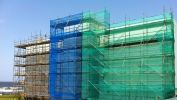 Green Safety Net Green Safety Net Barrier Netting Construction Safety