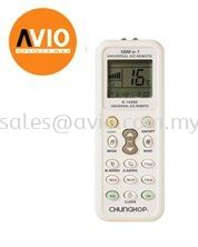 UNIVERSAL K-1028E AIR COND CONDITIONER REMOTE CONTROL SUIT JAPAN AND CHINA BRAND