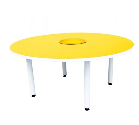 Q019  4'Round Table with Basket