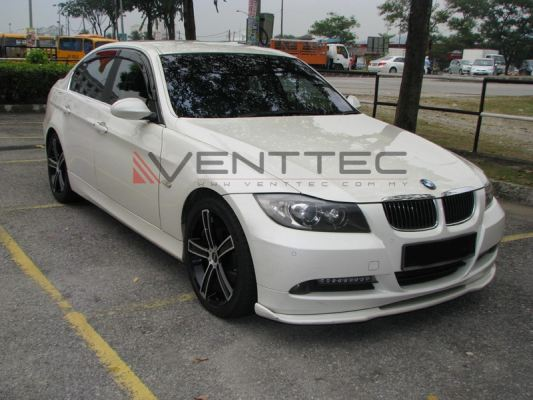 BMW 3-SERIES E90 SEDAN venttec door visor