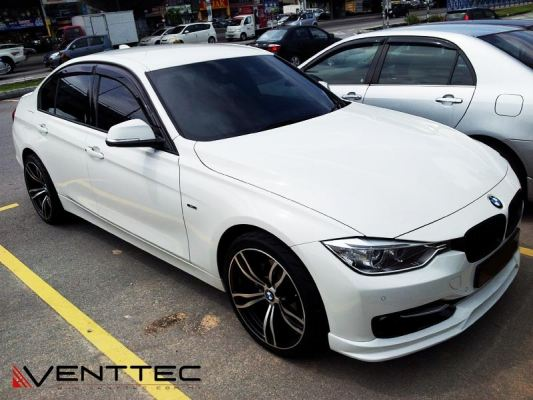 BMW 3-SIRIES F30 venttec door visor