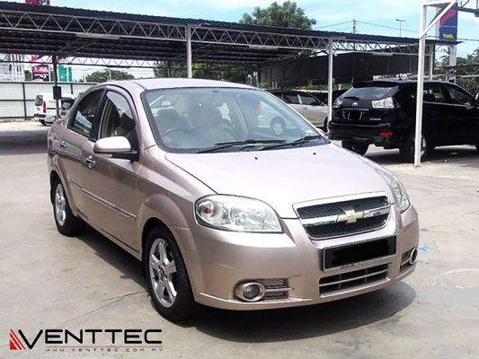 CHEVROLET AVEO SEDAN venttec door visor