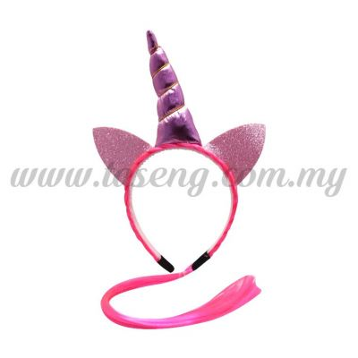 Hairband 20 UNICORN *Pink Hair (DU-HB20-1P)
