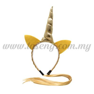 Hairband 20 UNICORN *Gold Hair  (DU-HB20-1G)