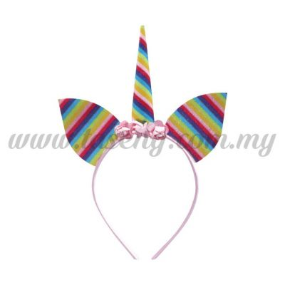 Hairband 20 UNICORN *Rainbow (DU-HB20-6)