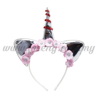 Hairband 20 UNICORN *Silver (DU-HB20-2S)