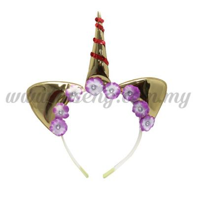Hairband 20 UNICORN *Gold (DU-HB20-2G)
