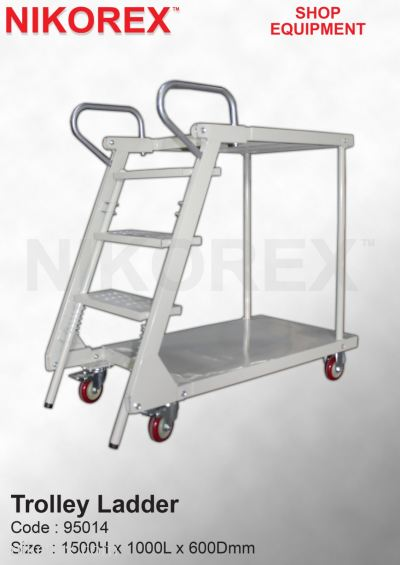 95014-Trolley Ladder