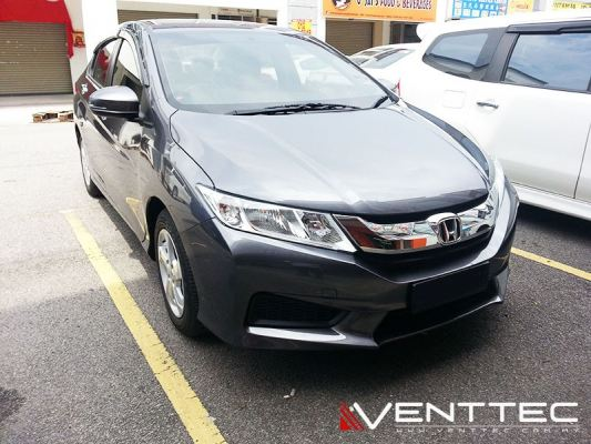 HONDA CITY (3��=75MM) venttec door visor