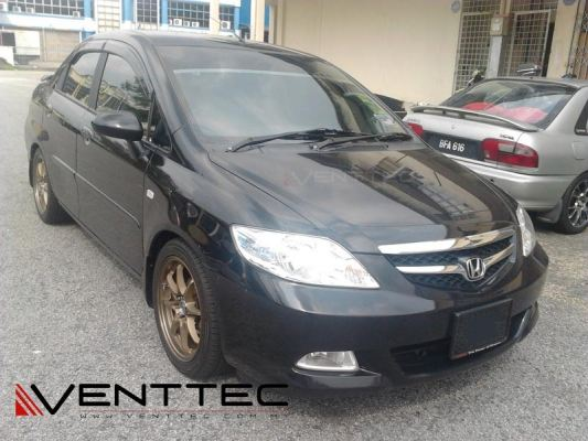 HONDA CITY venttec door visor