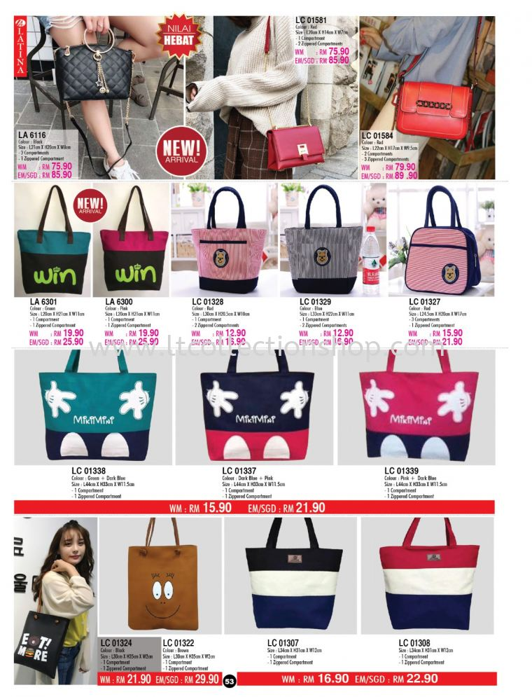 LATINA VOL 146 - HANDBAG COLLECTION LATINA VOL 146 - HANDBAG COLLECTION LATINA