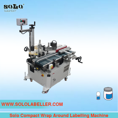 Compact Wrap Around Labelling Machine