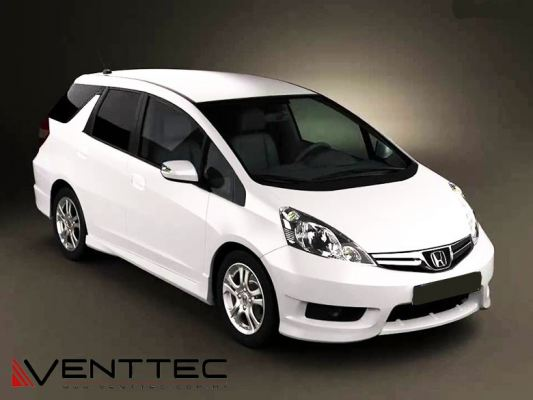 HONDA SHUTTLE (3�� = 75MM) venttec door visor