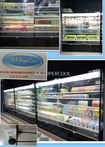 Chiller multideck showcase
