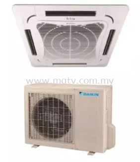 Daikin 2.0hp Eco King Ceiling Cassette Type Air Conditioner FCN20FV1  RN20CV1 R410A  Non Inverter  Air Surround Series