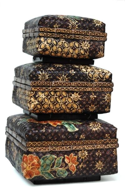 Batik Bamboo box
