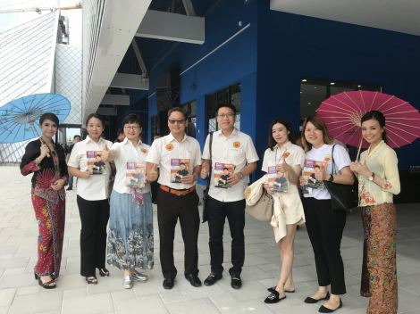 """PUCM受邀出席永大集团""""又见马六甲""""盛大开幕礼 PUCM attended Grand Launching of """" Encore Melaka"""" by Yong Tai Bhd"""