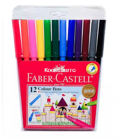 Faber Castell 12 Colour Pens