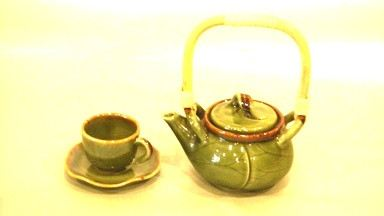 Lotus Small Tea Set