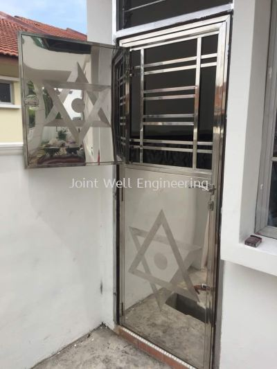 Steel Safety Door Kitchen