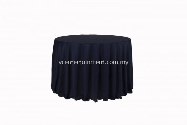 Round Table Cloth - Navy Blue