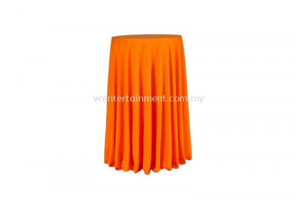 Orange Normal Hi Bar Table Cloth