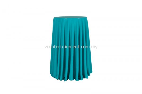 Turquoise Normal Hi Bar Table Cloth
