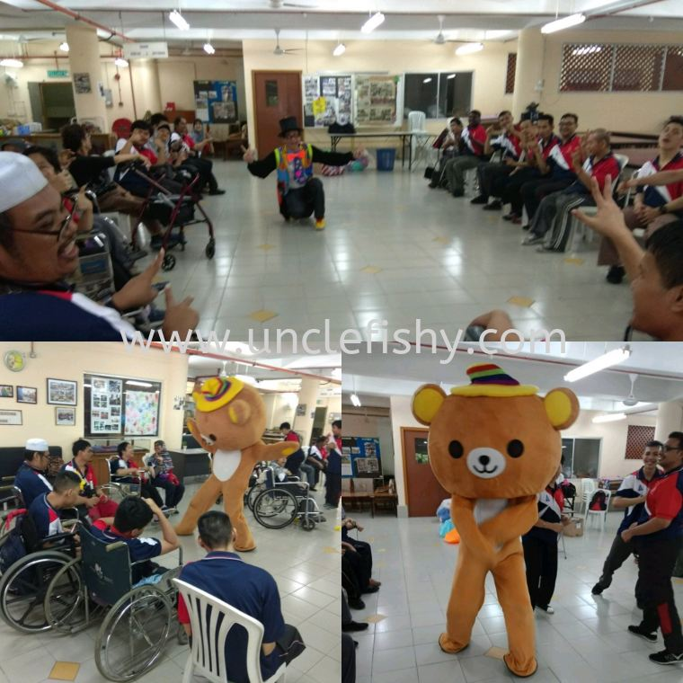 Care Charity Project at Cerebral Palsy Johor