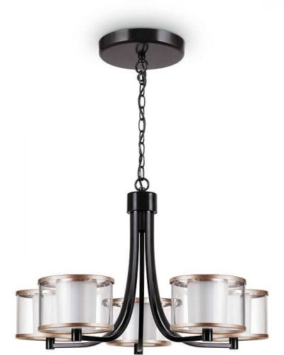 PHILIPS 40936  OUTLINE 37W LED CHANDELIER BRONZE