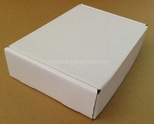 White Plain Die Cut Box