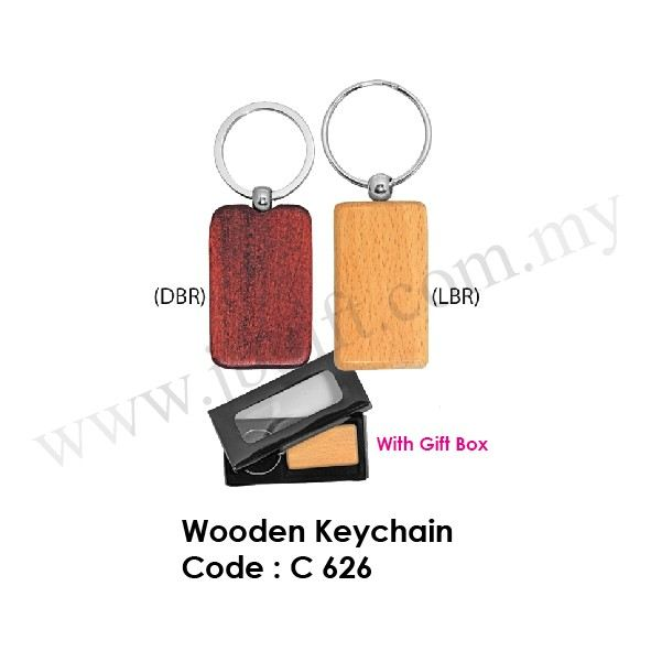 Wooden Keychain C 626 Key Chain