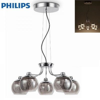 PHILIPS 40946 DEW Chandelier 5 Head