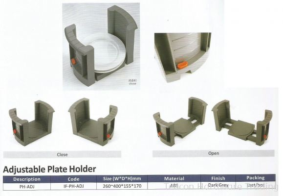 Adjustable Plate Holder