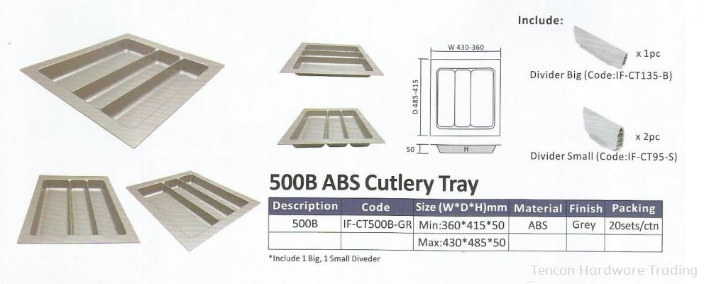 ABS Cutlery Tray