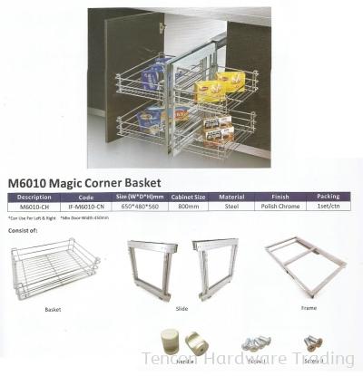 Magic Corner Basket