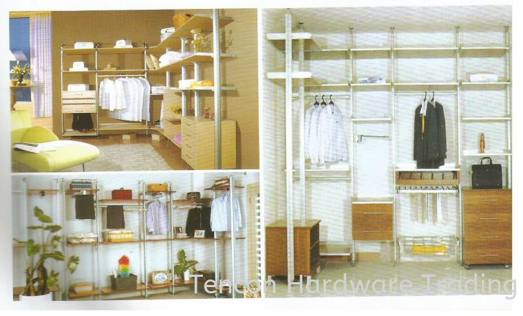 Wardrobe Accessories Wardrobe System & Accessories eTen Furniture Hardware