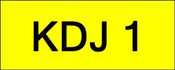 KDJ1 Super VVIP Plate