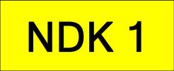 NDK1 Super VVIP Plate