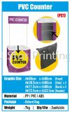 PVC Counter - PC1 Promotion Counter Banner Inkjet