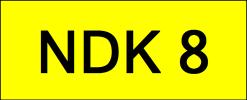 NDK8 VVIP Plate