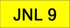 JNL9 VVIP Plate